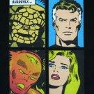 Marvel Comics FANTASTIC FOUR Cool New T-Shirt L Black