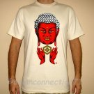 LORD BUDDHA Japan RONIN Yakuza T-Shirt 2XL XXL Cream