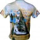 Salvador Dali PYRAMID of FORTUNE Fine Art Print T Shirt Men's Short Sleeve L Large