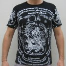 Thai HANUMAN SINGHA New Tattoo T-Shirt XL White/Black