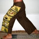 USAGI FOLKLORE Thai Cotton Fisherman Pants Freesize S-XXL