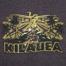 KILAUEA Big Island PRIERE Hawaii Surf T-shirt M L Brown