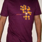 GENETICALLY GAMER Disco Rave CISSE T-Shirt Slim Fit Asian L Large Purple