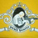DEVIL HUNTER Pope New CISSE T-Shirt Asian M Yellow BNWT