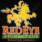 RED EYE REGGAE CLUB KINGSTON JAMAICA T-shirt XL Black