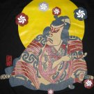Japanese KABUKI Actor RONIN Japan T-shirt M Black