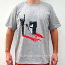 GASOLINE Oil Robbery STICK UP REGGAE T-shirt Gray M Medium