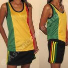 Roots Rasta Reggae New Mesh TANK TOP Shirt Unisex XS S
