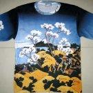 Hokusai FUGAKU SANJUROKEI Japan Ukiyoe Art T-Shirt Mens M Medium