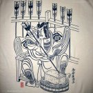 SAMURAI ARCHER Ronin Japan Yakuza T-Shirt M Cream