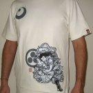 BUSHIDO BATTLE New RONIN Japan T-Shirt S Cream BNWT!