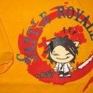 BATTLE ROYALE CISSE Disco Rave T-shirt Asian XL Yellow