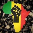AFRICA POWER New TIE DYE Roots Rasta REGGAE T-Shirt M