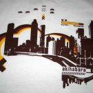 AKIHABARA JAPAN Gamer CISSE T-shirt Slim Fit Asian L Large White