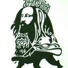 JAH RASTAFARI Roots Rasta Irie Dub T-Shirt by REGGAE M White