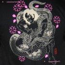 DRAGON Wrestler RONIN Japan T-Shirt M Black