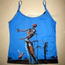 BURNING GIRAFFE New Salvador Dali Fine Art Print TANK TOP Misses XL