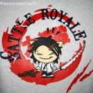 BATTLE ROYALE CISSE T-shirt Asian XL White