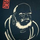 ZEN DARUMA Japan RONIN T-Shirt S Small Dark Blue
