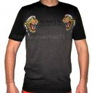 RONIN KAMIKAZE Tiger Japan Yakuza T shirt L Charcoal