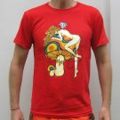 PSYCHEDELIC MUSHROOM NYMPH New T-shirt by REGGAE S RED