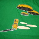 BOTTLECAP NIGHTMARE UFO CISSE T-Shirt Asian L Green