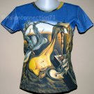 DADDY LONGLEGS Salvador Dali HOPE Fine Art Print Short Sleeve T Shirt Misses Size XL