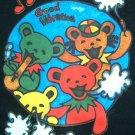 Rasta Bears GOOD VIBRATIONS New REGGAE T-shirt M Black