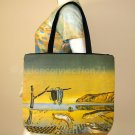 Salvador Dali DISINTEGRATION OF MEMORY Bag Purse Tote Fine Art Print L Large
