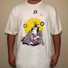 KABUKI Actor New RONIN Japan Yakuza T-shirt XL Cream