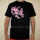 SAKURA Blossoms RONIN Japan YAKUZA T-Shirt XXL 2XL Black