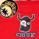 SURREAL FLYING COW CISSE Disco Party Rave T-Shirt Slim Fit Asian XL Red BNWT