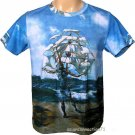 THE SHIP Fine Art Hand Print SALVADOR DALI T Shirt Men's Size XL