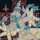 Thai Ramakian TOTSAKAN New Ethnic Yan Tattoo T-shirt L