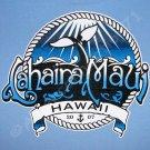 LAHAINA MAUI Aloha PRIERE Hawaii Surf T-shirt M Medium Blue