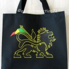 CONQUERING JUDAH LION Roots REGGAE Canvas Tote Bag