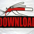 Mosquito DOWNLOAD New CISSE T-Shirt Asian L White BNWT!