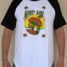 EAT ME New Magic Mushroom REGGAE T-shirt S M L XL