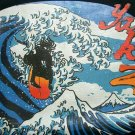 YAKUZA SURFING JAPAN RONIN Surf T-Shirt #3 M Black