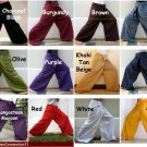 4 Plus Size Thai XXXL Cotton Fisherman Yoga Pants Wholesale Lot