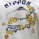 NIPPON Fuji Flowers RONIN Japan T-Shirt M Medium Cream