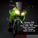 Kawasaki 35004-0110-15P Ninja 650R ER6n ER6f OEM Front Fender CANDY LIME GREEN 15P 09 10 11