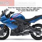 Kawasaki 55028-0234-15W Ninja 650R ER6f OEM Left UPPER Fairing METALLIC ISLAND BLUE 09 10 11