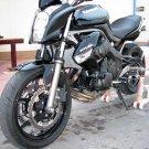 Kawasaki ER6n 14091-1587-15Q OEM Headlight Head Lamp Cover Cowl Diablo Black 09 10 11
