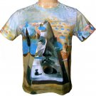 Salvador Dali PYRAMID of FORTUNE Fine Art Print T Shirt Men's Short Sleeve XL
