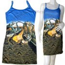 HOPE Salvador Dali Hand Print DADDY LONGLEGS Fine Art Dress Misses Size M 8-10