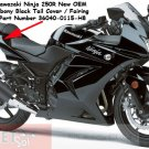 Kawasaki 36040-0115-H8 Ninja 250 R 250R OEM Right Tail Fairing EBONY BLACK 08 09 10 11 12