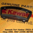 Kawasaki 25023-0068 Ninja 650R ER6f OEM METER COVER CASE 09-11 Replaces Part 25023-0045