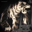 TIGER in BAMBOO Ronin Japan Yakuza T-Shirt L Large Black