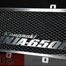 Kawasaki Ninja 650R Aluminum Logo Radiator Guard 09 10 11